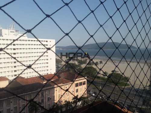 Apartamento, código 257 em Santos, bairro Gonzaga