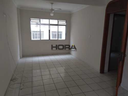Apartamento, código 266 em Santos, bairro Gonzaga