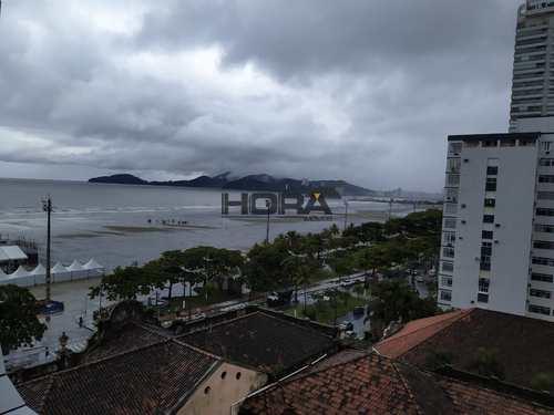 Apartamento, código 281 em Santos, bairro Gonzaga