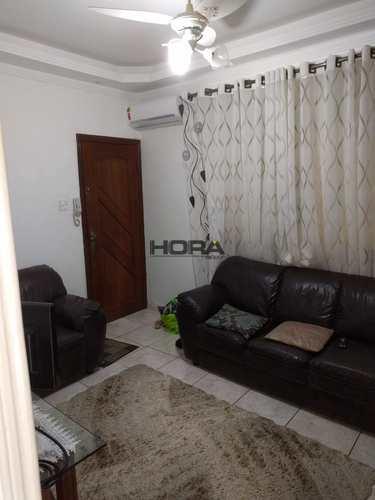 Apartamento, código 307 em Santos, bairro Gonzaga