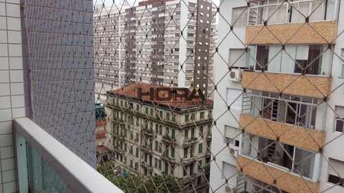 Apartamento, código 308 em Santos, bairro Gonzaga