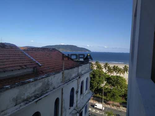 Apartamento, código 310 em Santos, bairro Gonzaga