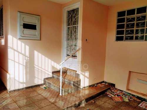 Casa, código 108 em Jaú, bairro Vila Sampaio Bueno