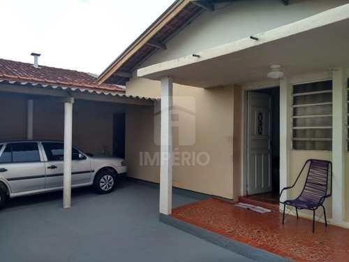 Casa, código 129 em Jaú, bairro Vila Vicente