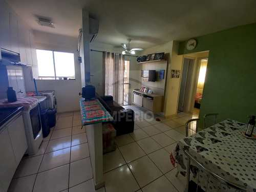Apartamento, código 598 em Jaú, bairro Jardim Olímpia