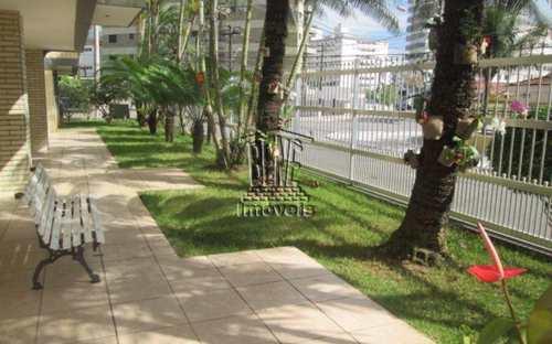 Apartamento, código 127 em Praia Grande, bairro Caiçara