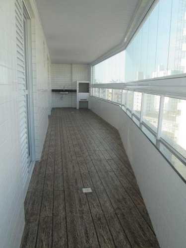 Apartamento, código 385 em Praia Grande, bairro Caiçara