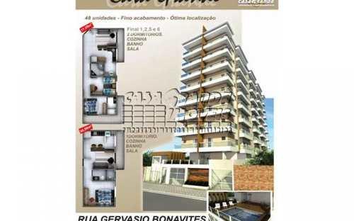 Apartamento, código 402 em Praia Grande, bairro Caiçara