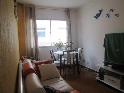 Apartamento, código 592 em Praia Grande, bairro Caiçara