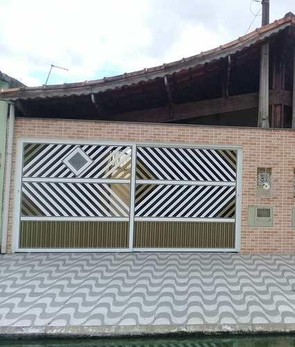 Casa, código 651 em Praia Grande, bairro Samambaia