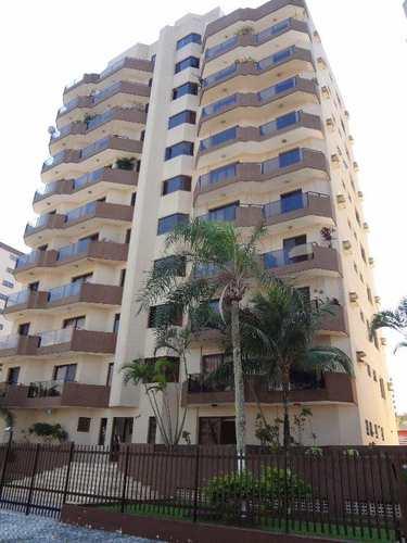 Apartamento, código 672 em Praia Grande, bairro Caiçara