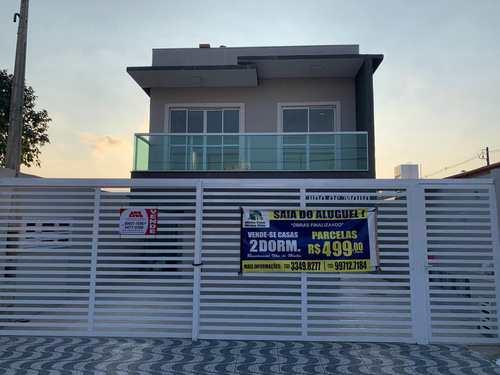 Casa de Condomínio, código 6221 em Praia Grande, bairro Maracanã
