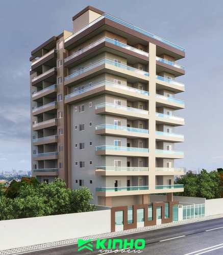 Apartamento, código AP532 em Praia Grande, bairro Mirim