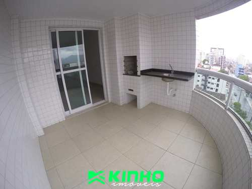 Apartamento, código AP575 em Praia Grande, bairro Guilhermina