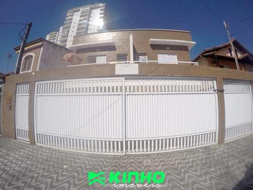 Casa de Condomínio, código CS20 em Praia Grande, bairro Guilhermina