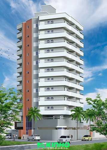 Apartamento, código AP696 em Praia Grande, bairro Mirim