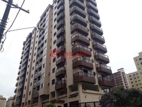 Apartamento, código 54 em Praia Grande, bairro Caiçara