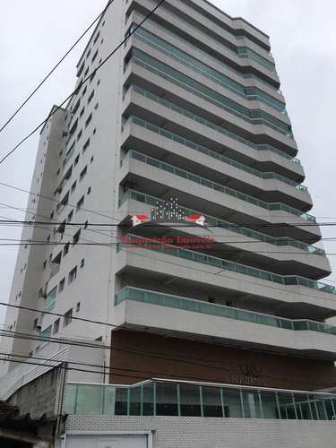 Apartamento, código 404 em Praia Grande, bairro Guilhermina