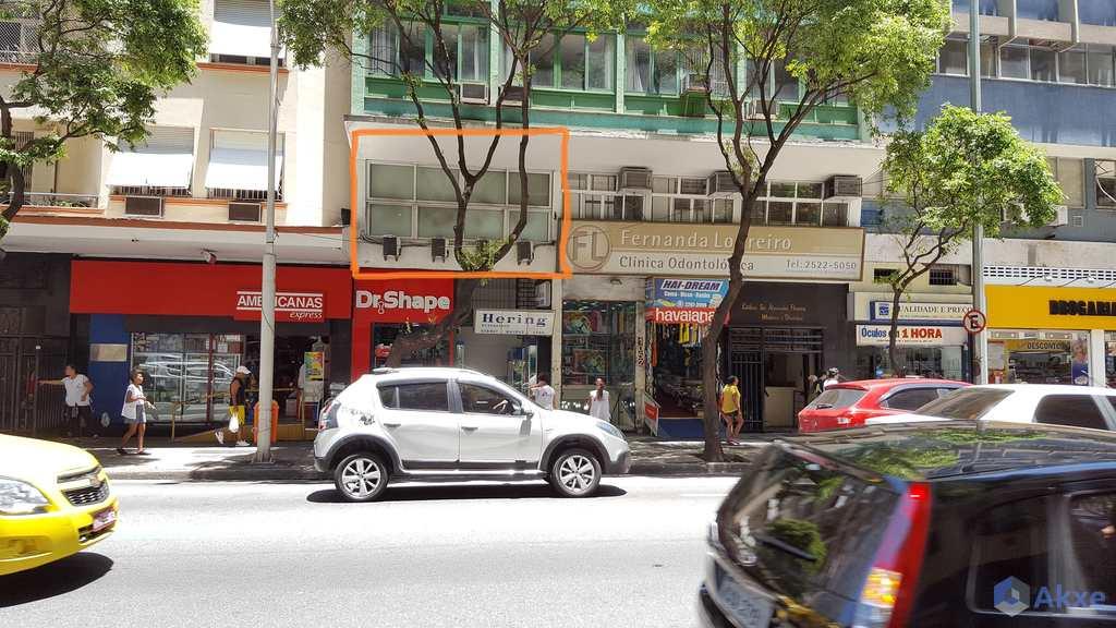 Sala Comercial em Rio de Janeiro, no bairro Copacabana