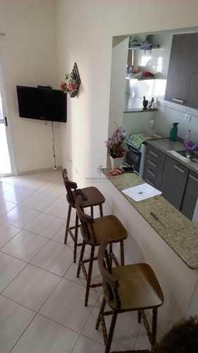 Apartamento, código 124 em Praia Grande, bairro Caiçara