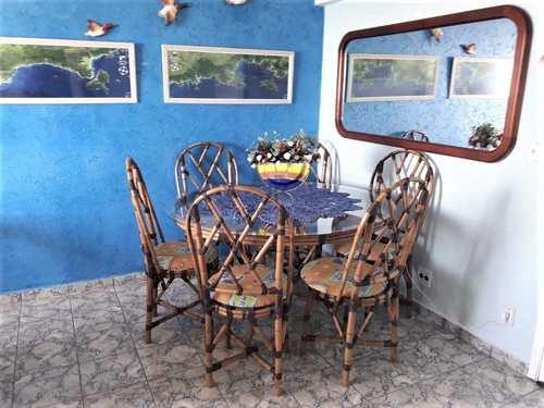 Apartamento, código 196 em Praia Grande, bairro Caiçara