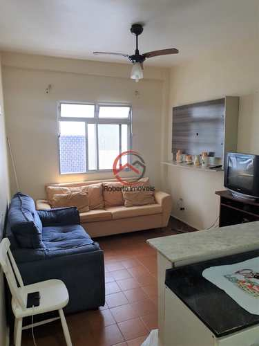 Apartamento, código 198 em Praia Grande, bairro Caiçara