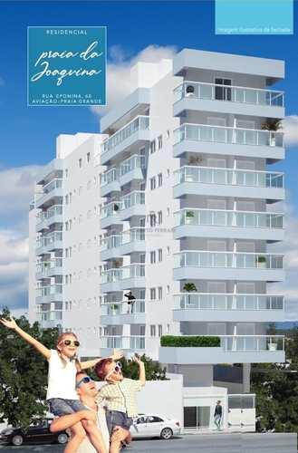 Apartamento, código 199 em Praia Grande, bairro Aviação