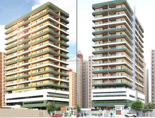 Apartamento, código 328 em Praia Grande, bairro Ocian