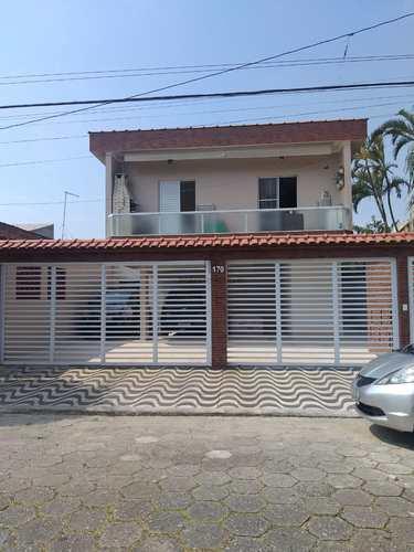 Casa de Condomínio, código 342 em Praia Grande, bairro Maracanã