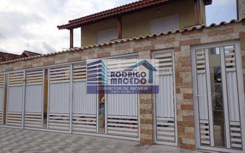 Casa de Condomínio, código 1652 em Praia Grande, bairro Mirim