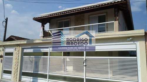 Casa de Condomínio, código 1735 em Praia Grande, bairro Mirim