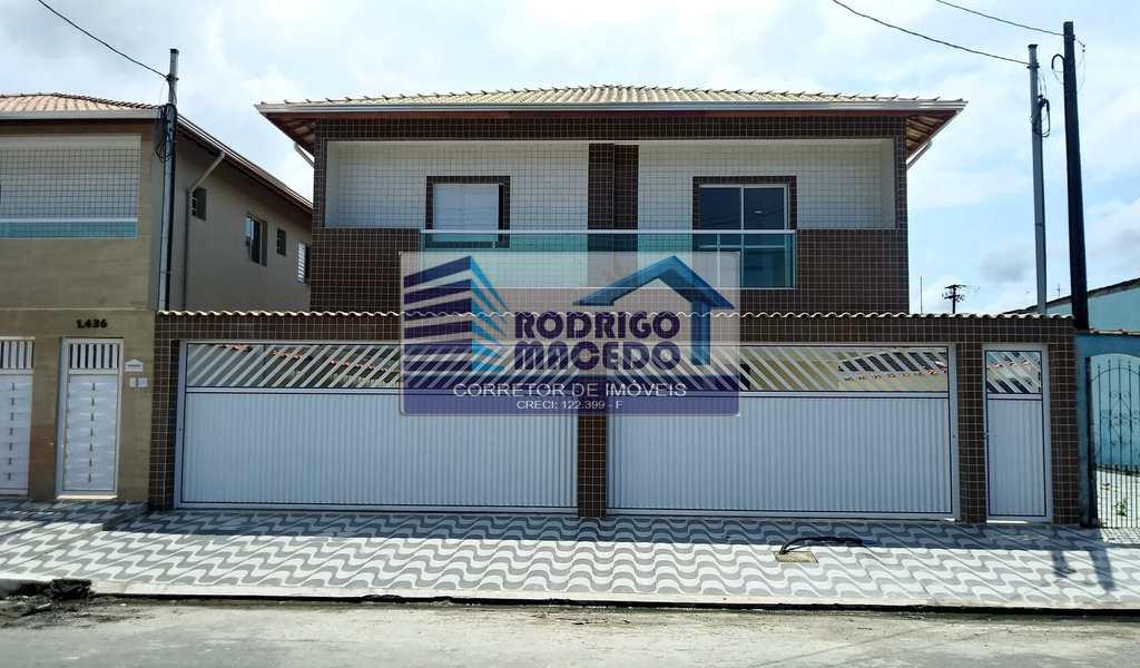 Sobrado de Condomínio em Praia Grande, bairro Melvi