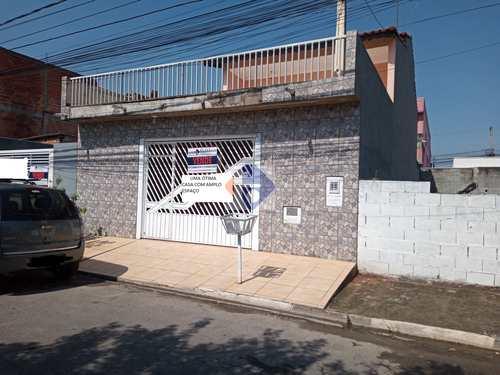 Sobrado de Condomínio, código 162 em Mogi das Cruzes, bairro Real Park Tietê Jundiapeba