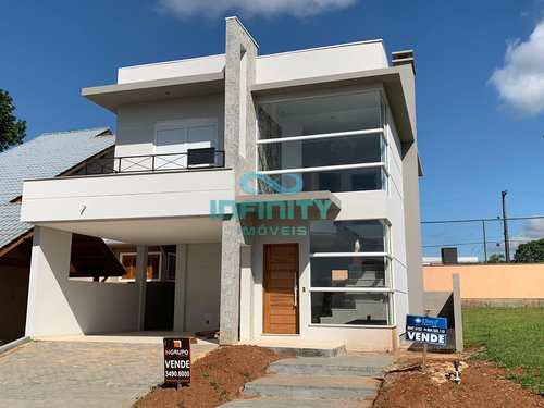 Casa de Condomínio, código 505 em Gravataí, bairro Villa Lucchesi