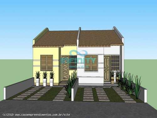 Casa, código 636 em Gravataí, bairro Rincão da Madalena