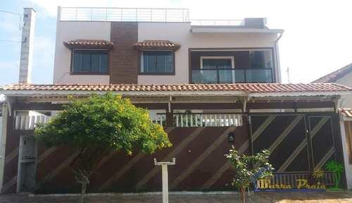 Sobrado, código 77 em Peruíbe, bairro Balneário Josedy