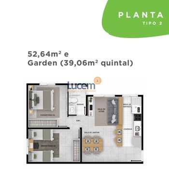 Apartamento em Jaguariúna, bairro Jardim Dona Irma