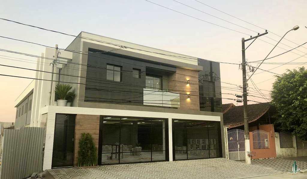 Condomínio em Praia Grande, no bairro Caiçara