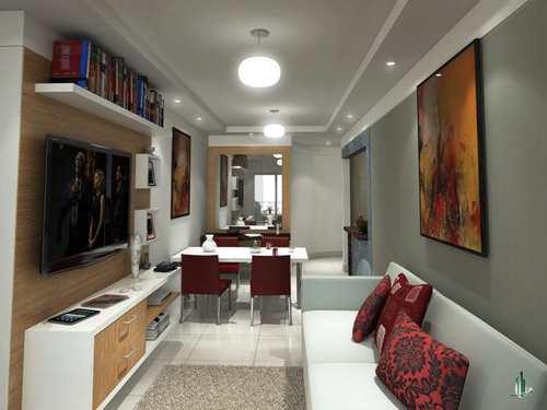 Apartamento, código LA1421 em Praia Grande, bairro Caiçara