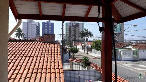 Casa de Condomínio, código CA1205 em Praia Grande, bairro Maracanã