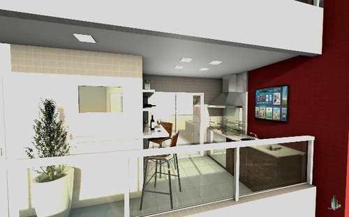 Apartamento, código AP1436 em Praia Grande, bairro Aviação