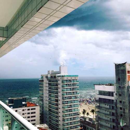 Apartamento, código AP2636L em Praia Grande, bairro Aviação