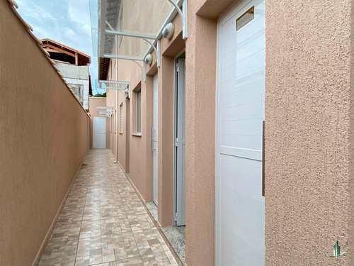 Casa de Condomínio, código SO1243 em Praia Grande, bairro Quietude
