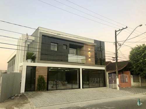 Sobrado de Condomínio, código SO1247 em Praia Grande, bairro Caiçara