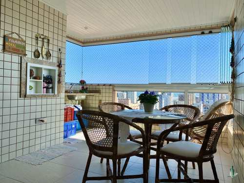 Apartamento, código AP2899 em Praia Grande, bairro Guilhermina