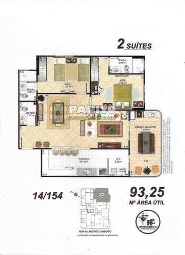 Apartamento, código 58490974 em Praia Grande, bairro Aviação