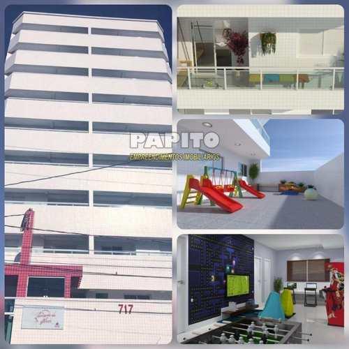 Apartamento, código 56626663 em Praia Grande, bairro Aviação