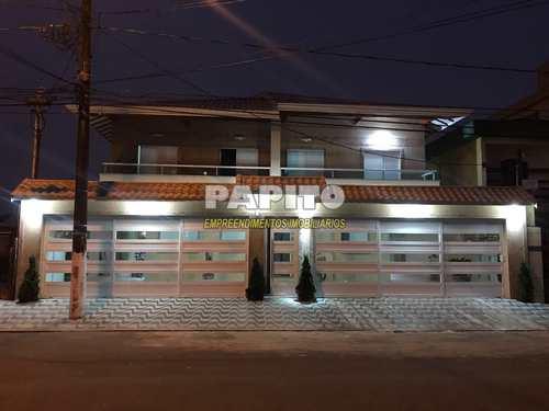 Casa de Condomínio, código 60011005 em Praia Grande, bairro Caiçara