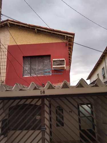 Sobrado, código 25 em São Vicente, bairro Vila Valença