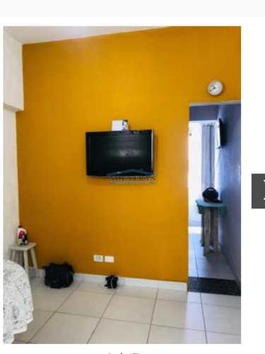 Sala Living, código 72 em São Vicente, bairro Centro
